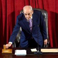 جلسة منح الثقة للحكومة الجديدة في قصر الأونيسكو - محمد سلمان