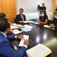 اجتماع بين وزير الأشغال ووفد من البنك الدولي