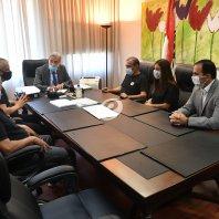لقاء وزير العدل مع وفد من عوائل ضحايا انفجار المرفأ