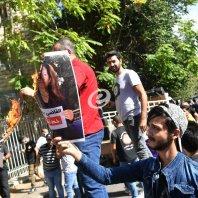 وقفة احتجاجية لحزب الله وحركة أمل أمام قصر العدل - محمد سلمان