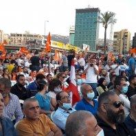 """احتفال لـ""""التيار الوطني الحر"""" في ذكرى 13 تشرين"""