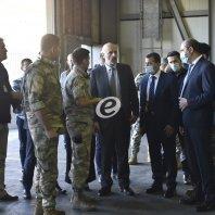 جولة وزير الداخلية في مطار بيروت الدولي - محمد سلمان