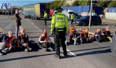 نشطاء مدافعون عن البيئة حاصروا أكبر ميناء في أوروبا