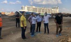 وزير البيئة تفقّد مرفأ بيروت واطلع على الوضع البيئي في منطقة الإهراءات المدمّرة