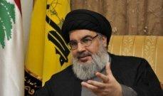 نصرالله نعى قبلان: فقدنا قامة رفيعة في مرحلة حساسة يحتاج فيها لبنان للقادة الكبار