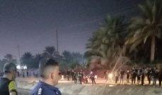 الدفاع المدني العراقي: إنقاذ 13 زائرا سقطت حافلتهم في نهر بكربلاء