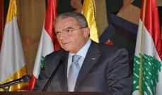 الخازن: فرنسا تثبت مرة جديدةأنها ذراع حام للبنان