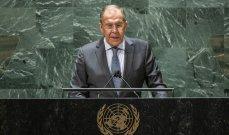 لافروف: نأمل باستئناف مفاوضات فيينا بأقرب وقت وهناك بؤرة إرهابية واحدة متبقية في سوريا