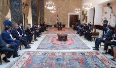 الرئيس عون: نعوّل على التعاون بين الجيش واليونيفيل للمحافظة على الاستقرار في المنطقة
