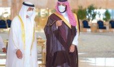 بن سلمان يستعرض مع ولي عهد أبوظبي العلاقات الثنائية
