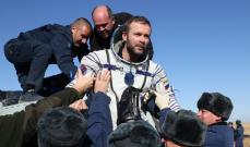 وكالة الفضاء الروسية: هبوط المركبة الفضائية التي تحمل الفريق السينمائي الروسي إلى الأرض