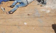 النشرة: سقوط عامل سوري من الطابق الثالث في مبنى قيد الانشاء بصيدا