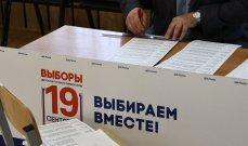 نتائج أولية صادرة عن لجنة الانتخابات: حزب بوتين