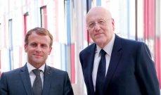 الجمهورية: ماكرون وعد ميقاتي بارسال وفد فرنسي للتحضير لمؤتمر جديد لمساعدة لبنان