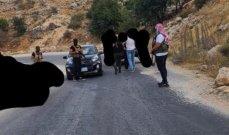 الشيخ مشيك نفى نصب حاجز على طريق عيون السيمان