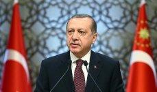 اردوغان: لن نقف مكتوفي الأيدي أمام نقل بايدن للأسلحة والذخائر للمنظمات الإرهابية بسوريا