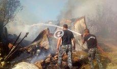 النشرة: فرق الإطفاء أخمدت حريقا كبيرا في منطقة الأولي عند مدخل صيدا الشمالي