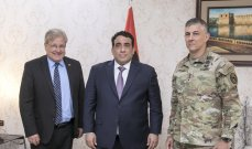 الدبيبة إلتقى قائد القيادة العسكرية الأميركية في إفريقيا