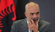 رئيس وزارء ألبانيا إشتكى من تأخر إجراءات إنضمام بلاده للإتحاد الأوروبي
