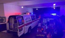 الدفاع المدني: جريحان جراء حادث سير على طريق عام جل البحر في صور