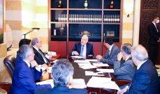 سلام بعد اجتماع للبحث بالبطاقة التمويلية برئاسة ميقاتي: نعمل على تذليل بعض العقبات ونسعى للوصول لنتائج إيجابية خلال الأيام المقبلة