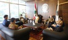 عكر بحثت مع رئيس اللجنة العسكرية للإتحاد الأوروبي العلاقات بينهما