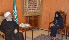 الخطيب التقى غريو: نطالب فرنسا بمساعدة اللبنانيين على الخروج من النظام الطائفي