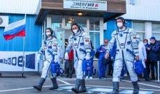 إقلاع صاروخ يحمل مخرجا وممثلة روسيين لتصوير أول فيلم في الفضاء