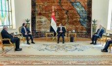 السيسي استقبل رئيس مجلس نواب العراق: سندعم بغداد لاستعادة مكانتها التاريخية ودورها العربي