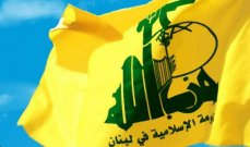 حزب الله: الاعتداءات الإسرائيلية تجسيد واضح لسياسة الغدر والإجرام