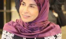 عز الدين تقدمت باقتراح لادخال الكوتا النسائية في قانون الانتخاب بـ 26 مقعدا على الاقل
