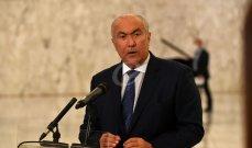 مخزومي: الحكومة امتداد لحكومة 2011 وحزب الله يحكم البلاد