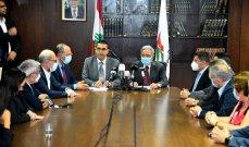 حجار تسلّم مهام وزارة الشؤون: سنبذل جهدنا لوضع مشروع البطاقة التمويلية حيّز التنفيذ
