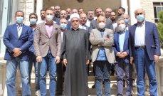 تيمور جنبلاط التقى وفودا أهلية وبلدية وزار الشيخ أبي المنى: سنكون كلنا إلى جانبك