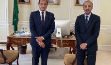سفير لبنان في فرنسا زار نظيره السعودي وجرى التأكيد على متانة العلاقة بينهما