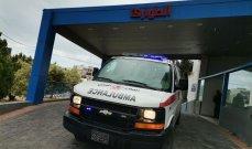 قتيلة وجريحة نتيجة حادث مروري على طريق المطار