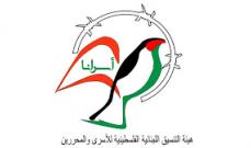 هيئة التنسيق اللبنانية الفلسطينية للأسرى: أي عدوان جديد على أسرانا في السجون سيواجه بقبضة فولاذية