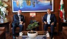 المدير العام للأمن العام بحث مع السفير النروجي بالأوضاع العامة وسُبل تعزيز التعاون الثنائي