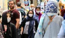 الصحة الإيرانية تسجل 15.9 ألف إصابة و391 حالة وفاة بـ