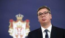الرئيس الصربي: قوات بريشتينا احتلت شمال كوسوفو بالكامل بظل صمت المجتمع الدولي