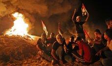 مستوطنون اقتحموا المنطقة الأثرية شمال نابلس و10 جرحى فلسطينيين شرقي غزة