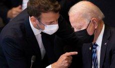 مسؤولون أميركيون لواشنطن بوست: الخلاف مع باريس سببه سياسات ماكرون الداخلية الذي يسعى لإعادة انتخابه