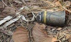 النشرة: اصابة شاب بإنفجار قنبلة عنقودية في أحد جبال منطقة البياضة
