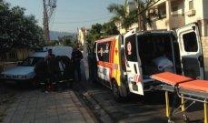 النشرة: جريح في اشكال وقع عند احدى محطات الوقود في صيدا