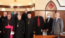 مجلس كنائس الشرق الأوسط افتتح موسم الخليقة بصلاة مسكونية في الكنيسة الإنجيلية