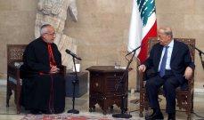 الرئيس عون: مجلس الوزراء لا يعيش فقط من خلال اللجان وعليه العودة الى الاجتماع سريعا