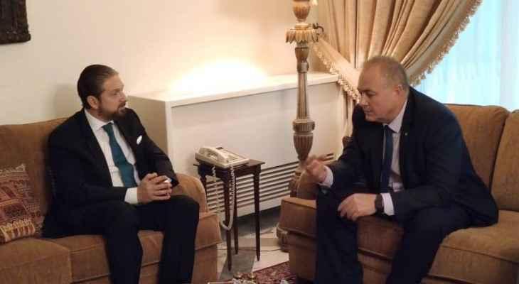 كرامي بحث مع روداكوف في عرض الشركات الروسية للإستثمار في لبنان