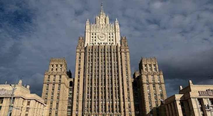 الخارجية الروسية: نشعر بقلق من تصاعد التوتر على الحدود بين أذربيجان وأرمينيا
