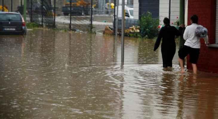 أربعة قتلى وعدد من المفقودين في عاصفة في غرب ألمانيا