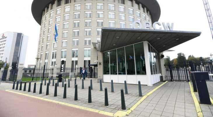 سفارة ألمانيا بموسكو: منظمة حظر الأسلحة الكيميائية صححت خطأ بمسودة تقريرها حول قضية نافالني